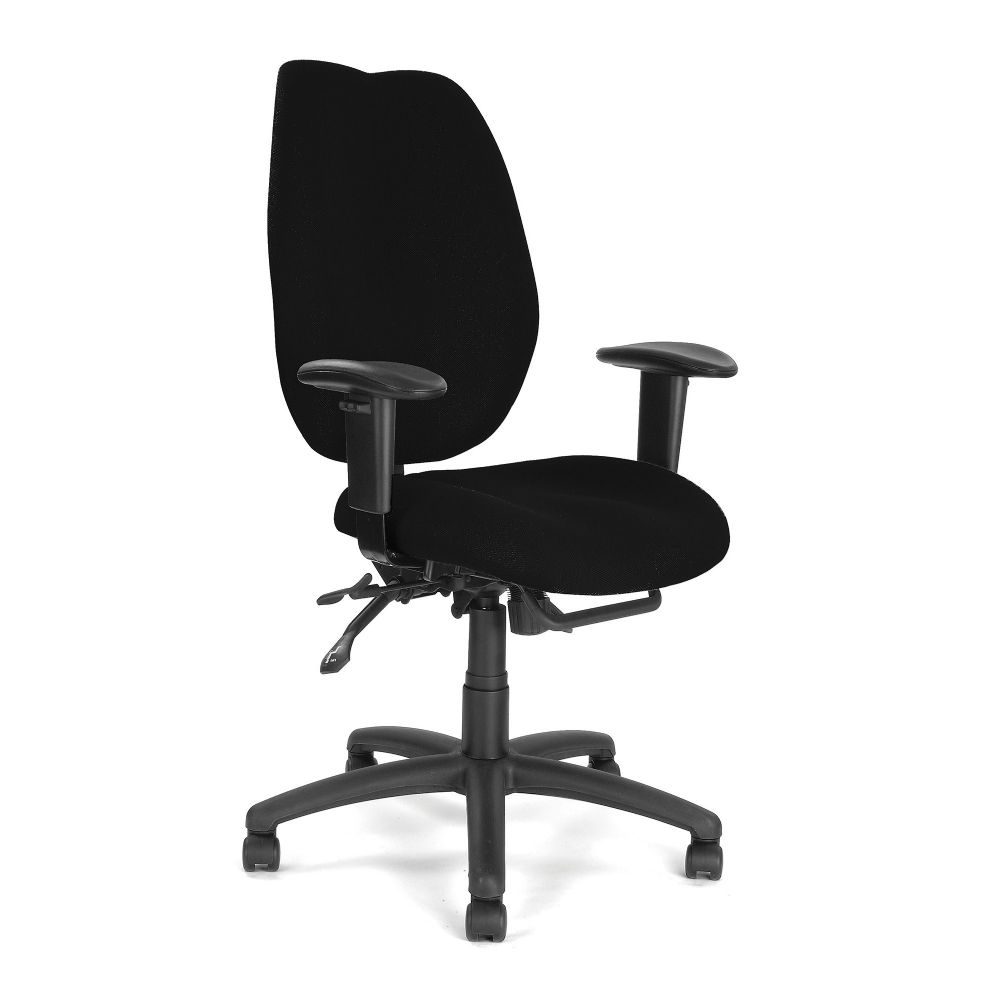 Thames Eliza Tinsley. Ergonomic High Back, Synchro Chair, Height Adjustable Arms, Choice of Colours